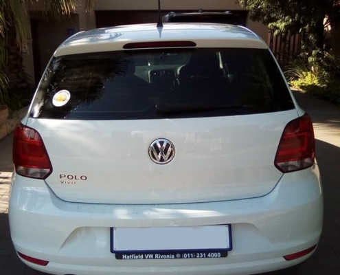 Convenience Car Hire ,Gallery page car image VW Polo